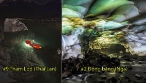 Top 15 hang động ảo diệu nhất thế giới, Việt Nam đứng thứ hạng bất ngờ