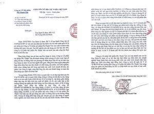 Công ty Mỹ Phẩm Phi Thanh Vân gửi thông báo thu hồi tiêu hủy sản phẩm