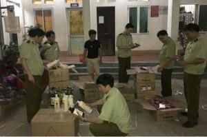 Lạng Sơn: Thu giữ 844 sản phẩm mỹ phẩm nhập lậu từ Trung Quốc