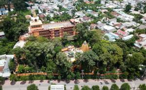 Tham quan ngôi chùa có tượng Phật bằng tóc người lớn nhất Việt Nam