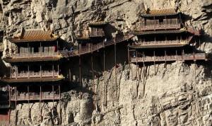 Bí ẩn bậc nhất thế giới về Huyền Không tự - ngôi chùa dính chặt vào vách núi