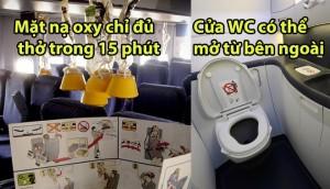 Bí mật trên máy bay mà các hãng hàng không luôn muốn giấu nhẹm