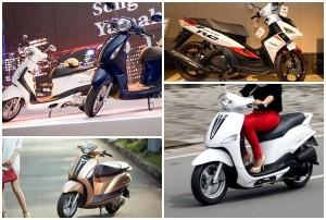Cập nhật giá các dòng xe tay ga và xe số Yamaha tháng 7/2018