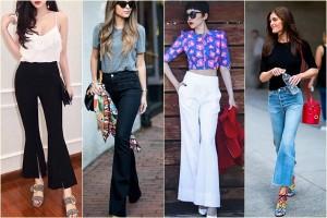 Mốt quần ống loe đã trở lại: Làm sao để mặc đẹp?