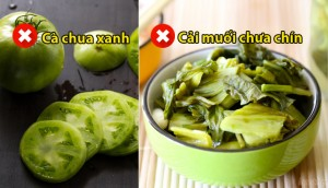Những thực phẩm quen thuộc nhưng có thể trở thành 'độc dược'