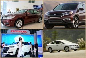 Bảng giá xe ô tô Honda tháng 7 âm lịch