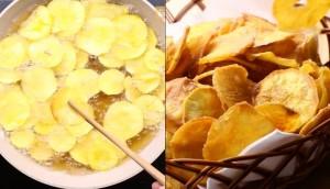 Công thức làm snack khoai lang thơm ngon, giòn rụm