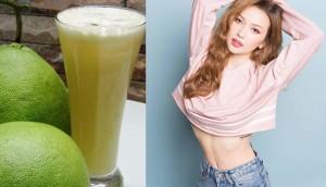 Đun vỏ bưởi lấy nước uống giúp giảm cân thần tốc, không lo đau dạ dày