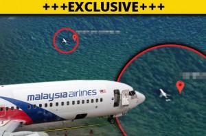 Nóng: Phát hiện hình ảnh rõ ràng nhất của MH370 gần miệng núi lửa