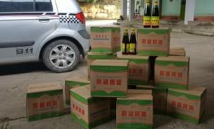 Tạm giữ lượng lớn dầu hào Trung Quốc nhập lậu về Việt Nam tiêu thụ