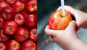 Hai cách rửa táo theo khoa học 'chuẩn không cần chỉnh'