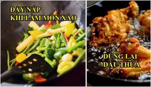 Những thói quen nấu nướng rất dễ gây ung thư nhiều người hay phạm phải