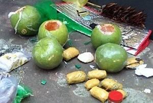 """Những trái bưởi """"chết người"""" từ TP HCM gửi ra Hải Phòng"""