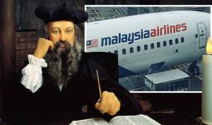 Sốc: Thảm kịch MH370 được nhà tiên tri Nostradamus thấy trước 500 năm