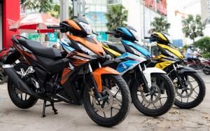 Trên 2,3 triệu chiếc xe máy đã được bán ra: Thị trường xe máy Việt vẫn tiếp tục tăng trưởng