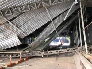 Xác định nguyên nhân vụ sập công trình trước cửa hầm Sài Gòn, giao thông ùn tắc kéo dài