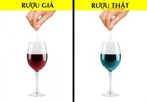 Cách nhận biết rượu vang bị làm giả