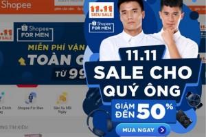 Chợ mạng đồng loạt giảm giá ngày 11-11