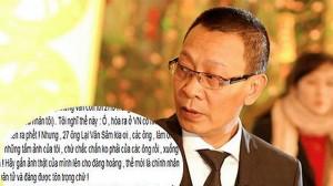 """MC Lại Văn Sâm nhắn gửi tâm tư tới 27 """"Lại Văn Sâm"""" khác trên Facebook"""