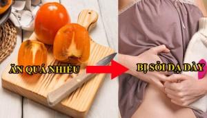 Những lưu ý khi ăn hồng ai cũng nên biết để tránh gây hại cho sức khỏe