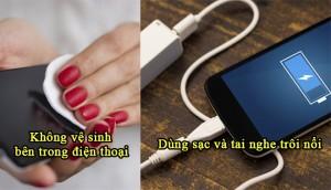 Những thói quen sử dụng điện thoại tai hại mà bạn nên bỏ ngay lập tức