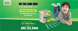 Bột rau xanh Yoko Koso và Waki được tung hô như thuốc đặc trị chữa táo bón