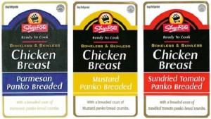 Thu hồi các sản phẩm gà không da, không xương do dị ứng