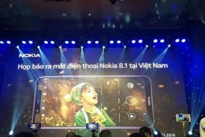 CHÍNH THỨC: Nokia 8.1 ra mắt tại Việt Nam giá 8 triệu đồng, khuyến mãi hấp dẫn