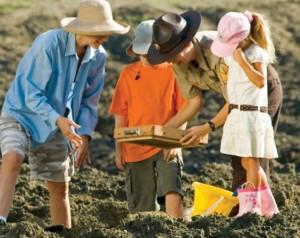 Công viên là mỏ kim cương lộ thiên, khách du lịch đổ xô tới đào xới tự do