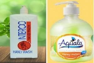 Đình chỉ lưu hành và thu hồi 2 loại nước rửa tay không đạt chất lượng