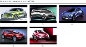 Lộ diện loạt mẫu ô tô tầm giá 300 triệu mới sắp trình làng của VinFast