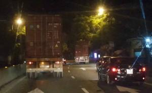 Ma túy đầu độc lái xe container tỉnh như sáo 2 ngày 2 đêm