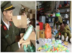 Nghệ An: Xử lý cửa hàng ngang nhiên bày bán mỹ phẩm không rõ nguồn gốc