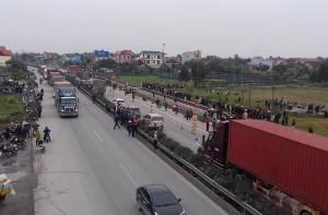 Thông tin mới nhất vụ đoàn đại biểu dự đại hội MTTQ xã bị xe tải đâm nhiều người tử vong