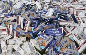 TP. Hồ Chí Minh: Phát hiện hơn 13.000 bao thuốc lá điếu nhập lậu