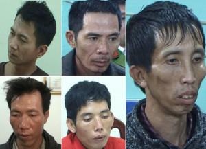 Chân dung 5 nghi phạm vụ thiếu nữ Điện Biên bị sát hại khi đi giao gà chiều 30 Tết