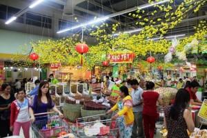 Lịch siêu thị mở cửa dịp Tết nguyên đán 2019