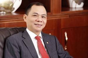 Ông Phạm Nhật Vượng lọt top 200 người giàu nhất thế giới