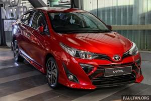 Toyota Vios 2019 vừa ra mắt giá từ 433 triệu đồng có gì mới?