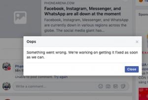 Facebook công bố nguyên nhân gây ra sự cố trên toàn cầu hôm 14/3