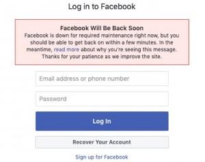 Facebook lên tiếng về sự cố Messenger đang xảy ra trên toàn cầu