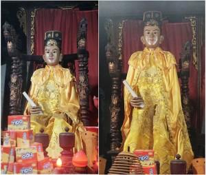 Kỳ lạ 2 pho tượng biết đứng lên, ngồi xuống trong ngôi miếu cổ hơn 700 tuổi