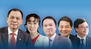 Tài sản khủng trăm nghìn tỷ của 5 người Việt giàu nhất thế giới đến từ đâu
