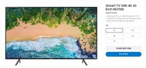 Top TV giá rẻ, chỉ hơn 10 triệu đồng hấp dẫn nhất tháng 03/2019