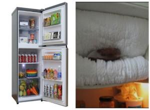 Tủ lạnh bị đóng tuyết trên ngăn đá, cách khắc phục đơn giản