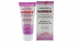 Dầu gội chống gàu HairNew chứa chất cấm bán công khai