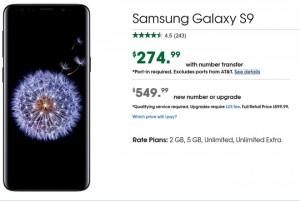 Galaxy S9 đang giảm