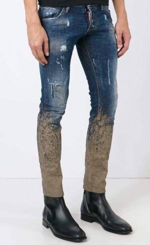 Chiếc quần bẩn như dính bùn, lội ruộng hét giá 16 triệu đồng vẫn