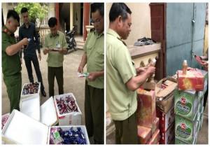 Nhập lậu lượng lớn kem vị trái cây, nước ngọt từ Trung Quốc về Việt Nam tiêu thụ