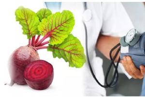 Củ cải đường cực tốt cho người bị bệnh huyết áp